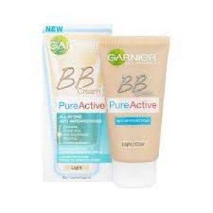 بي بي كريم غارنييه بيور أكتيف لتفتيح البشرة Garnier Skin Active BB Cream Fairness SPF 12
